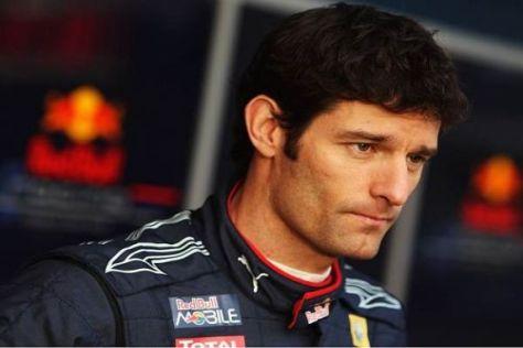 Mark Webber weiß: Da hat er eine Menge Glück gehabt...