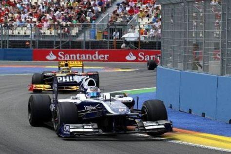 Rubens Barrichello fuhr ein starkes Rennen und wurde am Ende Vierter