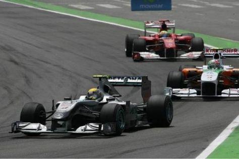 Rosberg bekam auf der Strecke kein Geburtstagsgeschenk serviert