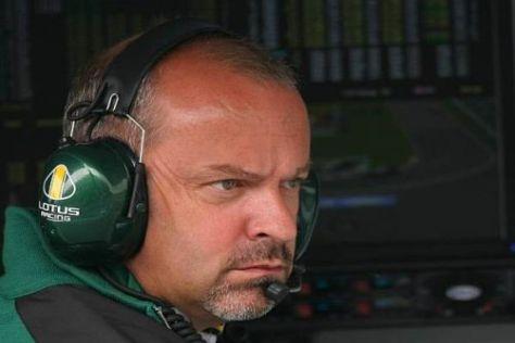 Mike Gascoyne gibt Heikki Kovalainen nach dem Horrorcrash Rückendeckung