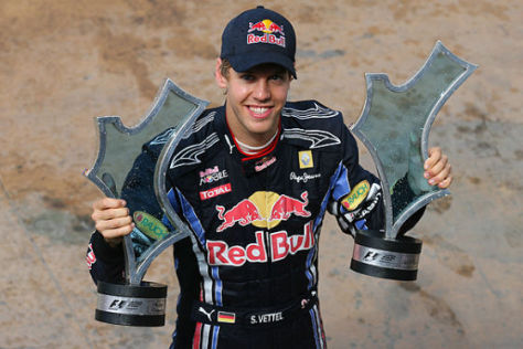 Sebastian Vettel Red Bull Racing GP Valencia 2010