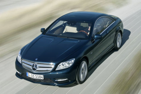 Mercedes-Benz CL 500 Blue Efficiency