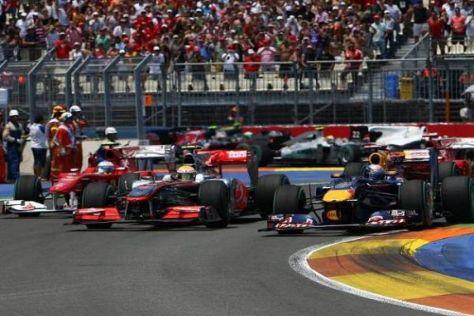 Gegen Ferrari und McLaren: Red Bull will auch in Silverstone die Nase vorn haben