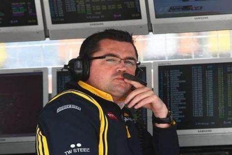 Eric Boullier ist seit Saisonbeginn neuer Teamchef von Renault