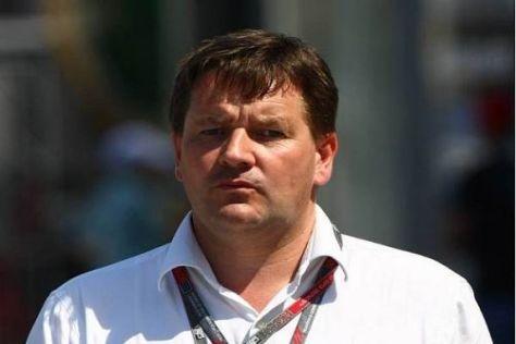 Pirelli-Motorsportchef Paul Hembery freut sich auf die neue Herausforderung