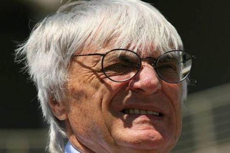 Bernie Ecclestone freut sich auf den Grand Prix von Deutschland