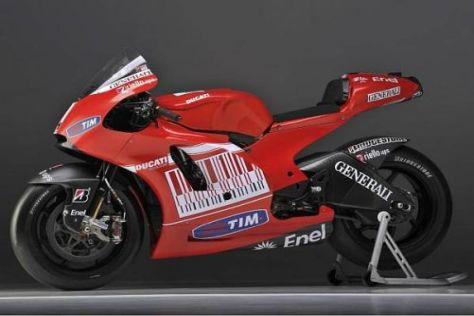 Ducati entwickelt für 2012 eine komplett neue Desmosedici