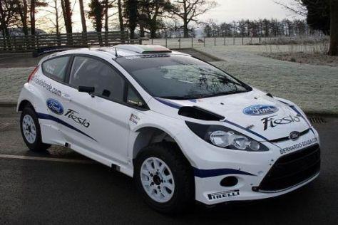Der Fiesta S2000 ist ab der kommenden Saison das WRC-Auto von Ford