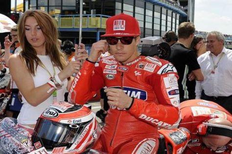 Nicky Hayden möchte bei Ducati bleiben, aber unterschrieben hat er noch nicht