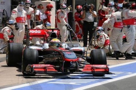 Lewis Hamilton und das McLaren-Team nehmen Kurs auf das Silverstone-Rennen