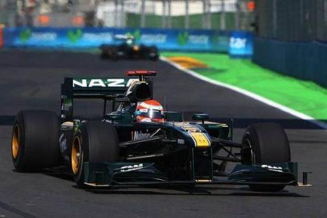 Jarno Trulli ist trotz der schweirigen Saison mit Lotus zufrieden