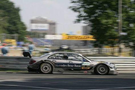 Bruno Spengler vergab die Pole-Position in der Dutzendteichkehre