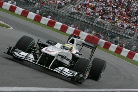 Der C29 stellt das Sauber-Team immer wieder vor eine neue Herausforderung
