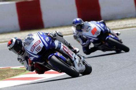 Das Yamaha-Werksteam war auch ohne Valentino Rossi recht erfolgreich