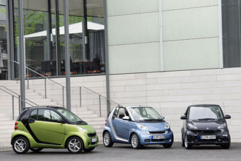 Smart Facelift 2010