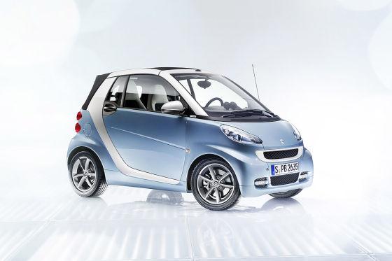 Smart Fortwo Cabrio Facelift Sondermodell lightshine