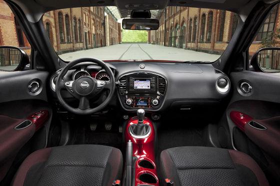 Fahrbericht nissan juke for Nissan juke innenraum