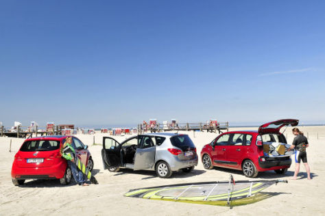 Kia Venga Opel Meriva Citroën C3 Picasso