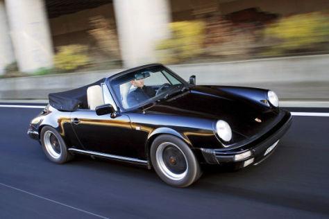 porsche 911 cabrio auto bild klassik. Black Bedroom Furniture Sets. Home Design Ideas