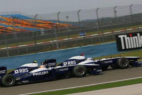 Das Williams-Team wartet in Silverstone mit einigen Upgrades auf