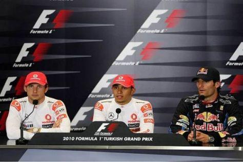 Mark Webber glaubt, dass sich auch Hamilton und Button ins Gehege kommen