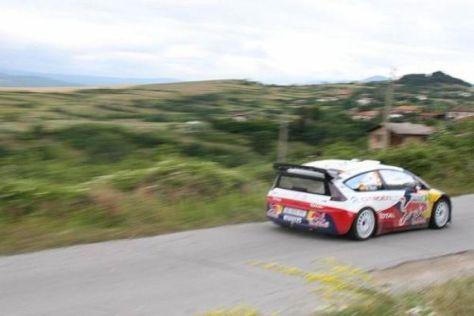 Die WRC gastiert zum ersten Mal in der Berglandschaft Bulgariens