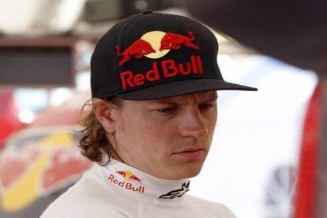 Kimi Räikkönen war stark unterwegs, bis sein C4 auf dem Dach landete