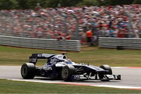 Rubens Barrichello zeigte im Qualifying eine starke Darbietung
