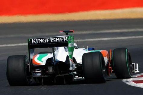 Adrian Sutil bekam im entscheidenden Lauf nicht den Grip von den Reifen