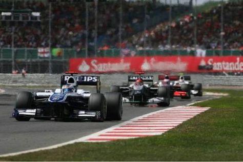 Barrichello konnte schon in der ersten Runde einige Positionen gutmachen