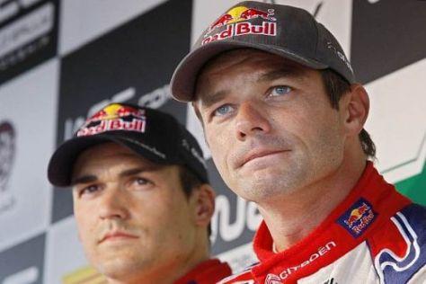 Sébastien Loeb und Daniel Sordo holten den ersten Citroen-Doppelsieg 2010