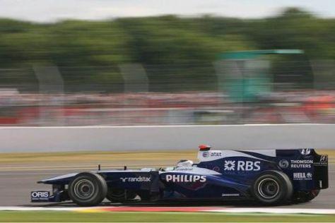Rubens Barrichello möchte mit Williams auf das oberste Siegertreppchen fahren