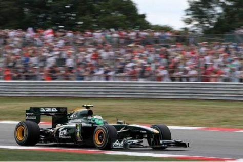 Das neue Lotus-Team wird in dieser Saison von Cosworth-Motoren angetrieben