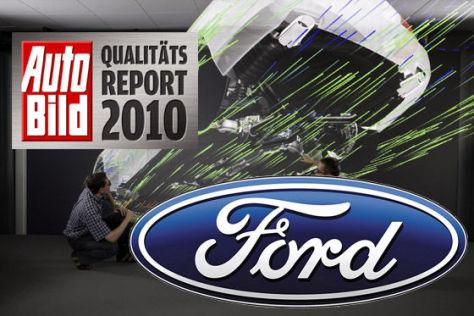AUTO BILD Qualitätsreport 2010: Ford