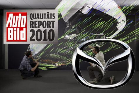 AUTO BILD-Qualitätsreport 2010: Mazda