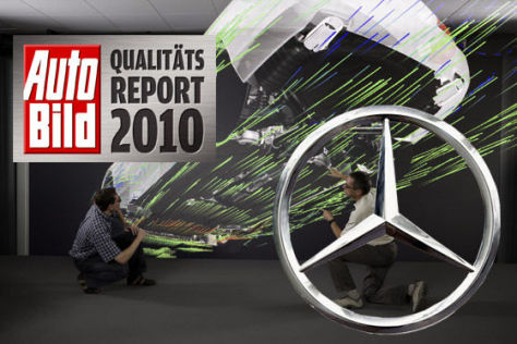 AUTO BILD-Qualitätsreport 2010: Mercedes
