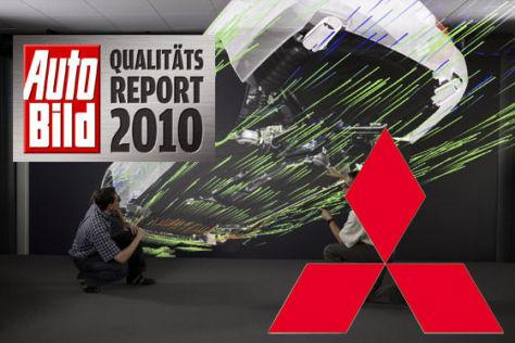 AUTO BILD-Qualitätsreport 2010: Mitsubishi
