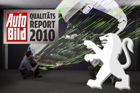 AUTO BILD-Qualitätsreport 2010: Peugeot