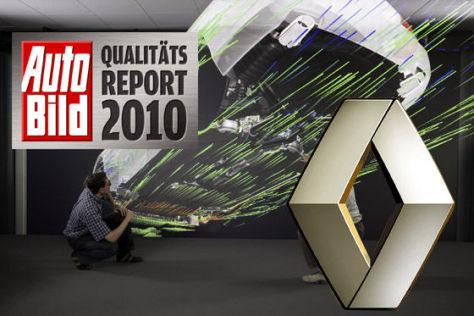 AUTO BILD-Qualitätsreport 2010: Renault