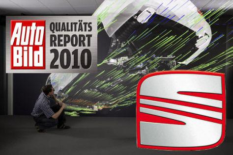 AUTO BILD-Qualitätsreport 2010: Seat