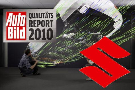 AUTO BILD-Qualitätsreport 2010: Suzuki