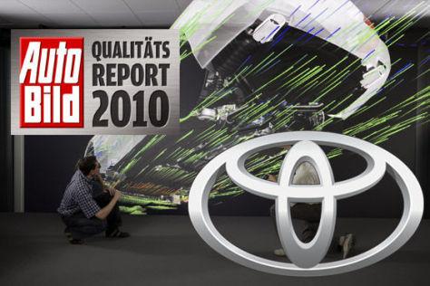 AUTO BILD-Qualitätsreport 2010: Toyota