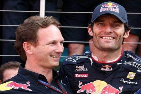 Christian Horner und Mark Webber wollen sich noch aussprechen