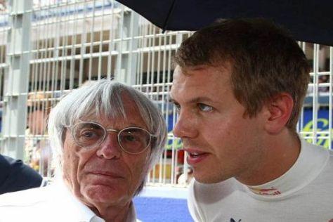 Bernie Ecclestone bleibt bei seinem WM-Tipp Sebastian Vettel