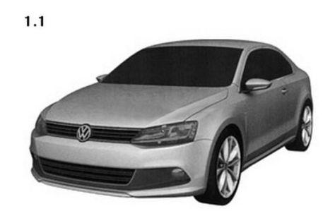 VW Golf Coupé (2011): Erste Zeichnungen