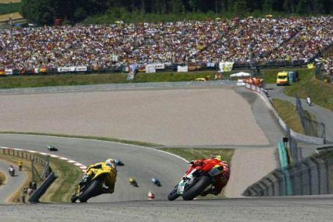 Der Sachsenring stellt auch die Reifen auf eine harte Probe