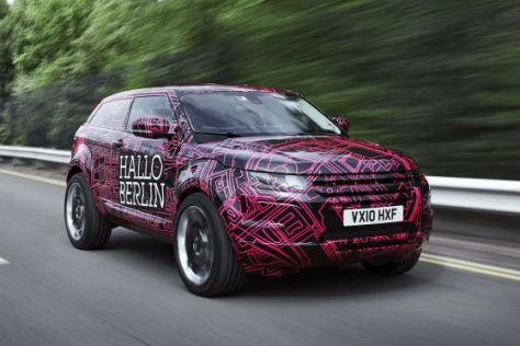 Land Rover Evoque Prototyp