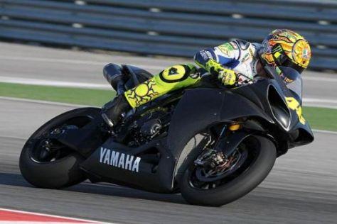 Valentino Rossi zeigte beim Test in Brünn, dass er schon wieder fahren kann