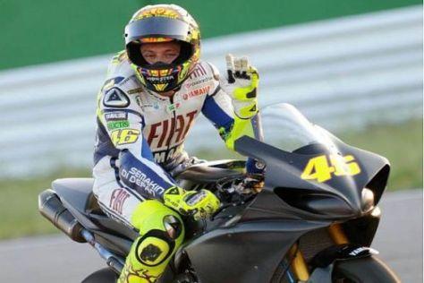 Alles klar: Valentino Rossi gibt am Sachsenring sein Renncomeback