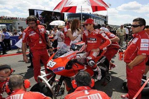 Nicky Hayden erwartet vorerst keine Veränderungen bei Ducati